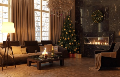 Christmas Staged Home ideas while selling