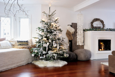 Christmas Staged Home while selling