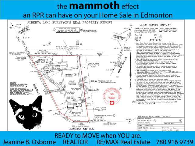 Real Property Report in Edmonton Alberta