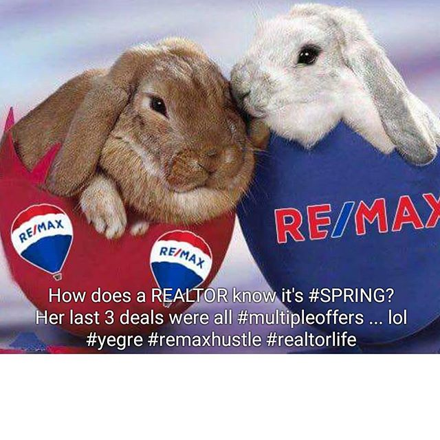 How does a REALTOR® know it's Spring?