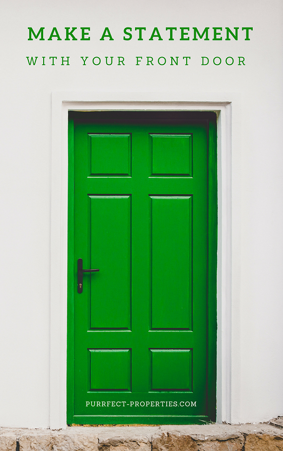 Make a Statement with Your Front Door