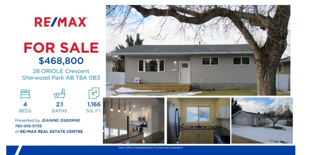Simply Elegant! in Sherwood Park!