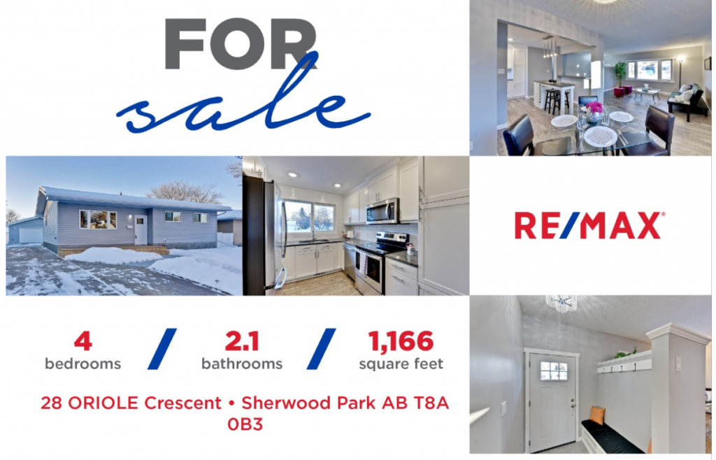 Totally Renovated Bungalow for sale in Sherwood Park
